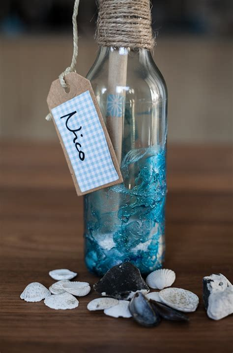 flaschenpost basteln handmade kultur