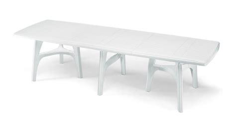 tavoli da giardino in resina tavolo resina president 3000 lamacchia mobili da giardino