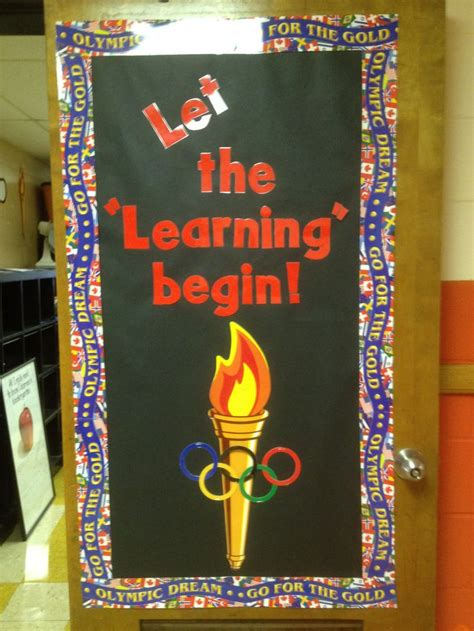 gold team themes olympic decorations for classroom iron blog