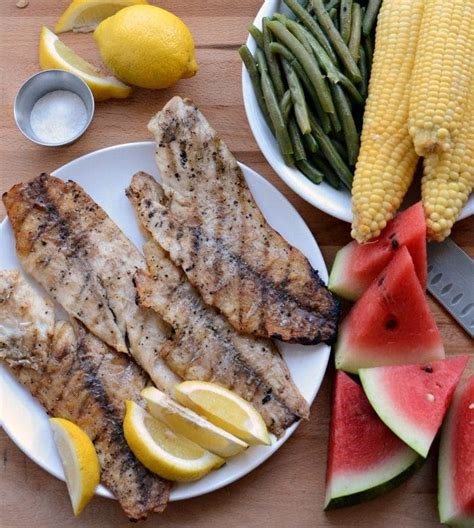 Fish Grill Recipe by Flaky Grilled Fish Fillet Recipe Your New Go To Grilled