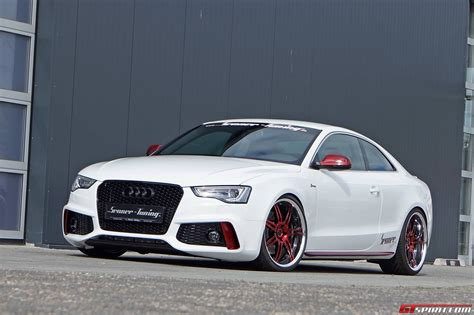 charming white audi s5 coupe by senner tuning gtspirit
