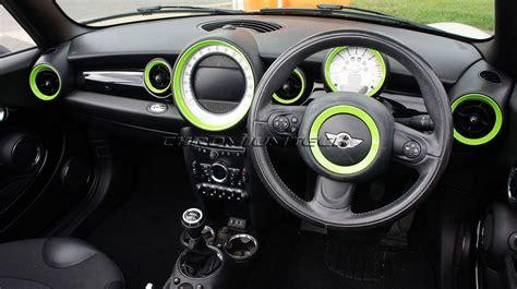 mini cooper dash lights mini dashboard rings r55 r56 r57 r58 r59 choice of