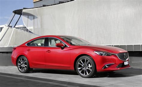 mazda 2016 range 2016 mazda6 range in australia updated with added safety