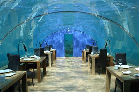 maldives ithaa underwater restaurant overwater villa maldives ithaa underwater restaurant overwater villa