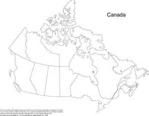 grade 4 blank map of canada