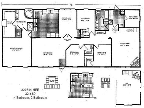 manufactured homes floor plans double wide bestofhouse new mobile homes double wide floor plan new home plans