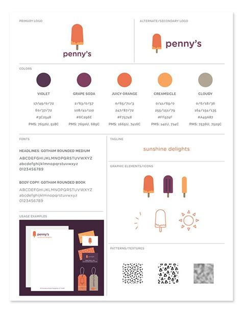Freebie Brand Style Guide Template Brand Style Guide Template And Brand Guidelines Template Brand Identity Guidelines Template
