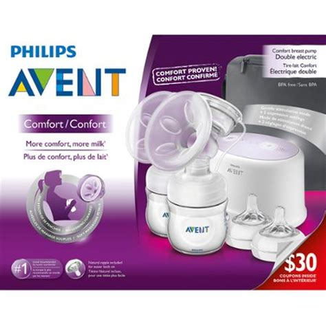 philips avent comfort breast pump philips avent comfort double electric breast pump