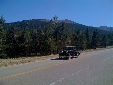 drive up pikes peak panoramio photo of pikes peak drive colorado antique cars