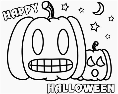 printable happy halloween coloring pages happy halloween coloring pages printable