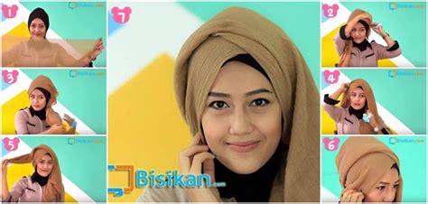 Tutorial Hijab Pashmina Acara Formal | tutorial hijab pashmina untuk acara formal 1