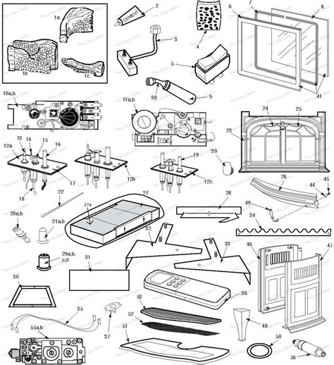 Vermont Castings Gas Fireplace Parts by Radiance Rdv0d 3325 3232 33503354 33603369 33903399
