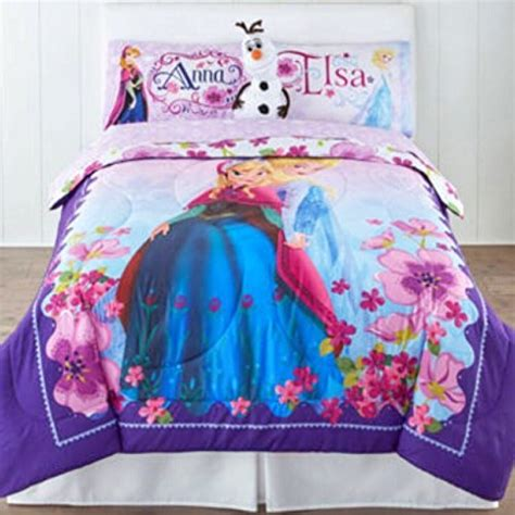 frozen full size comforter disney frozen celebrate love 10 piece bed in bag full size