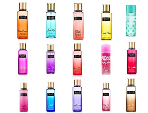 A Different Of Scent Organic Perfumes s secret fragrance mists different scent s