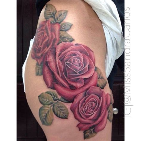tattoo healing on hip some finished roses two sessions for this bad boy she