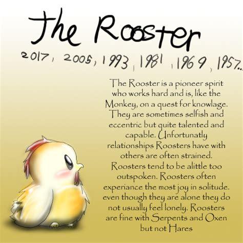 new year rooster characteristics zodiac zodiac photo 14267892 fanpop