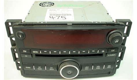 saturn vue radio 2008 saturn vue factory am fm radio cd mp3 player r 1393