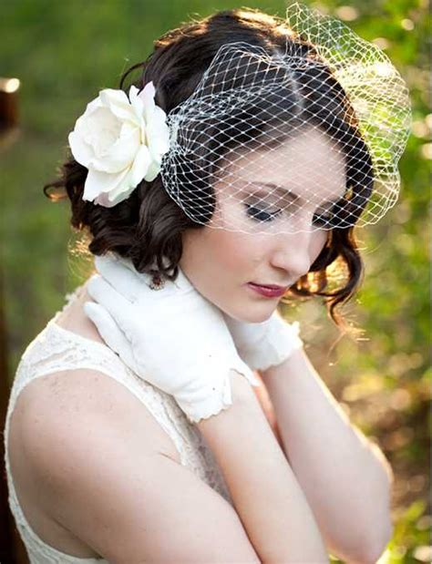 Vintage Wedding Hairstyles Veil by 15 Chic Bridal Hairstyles With Veil For Wedding Day