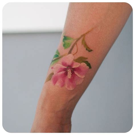 rose of sharon tattoo of graffittoo tattoos