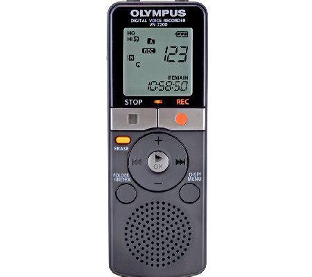 Olympus Vn 7200 by Olympus Vn 7200 2gb Digital Voice Recorder Qvc