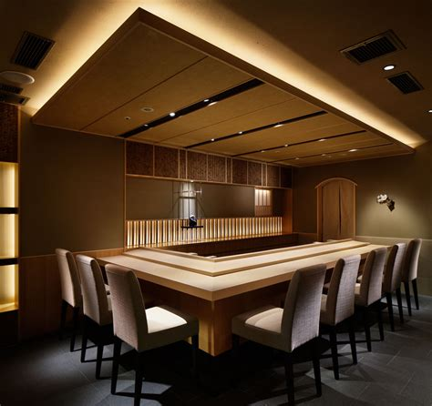 design zen cafe dropped ceiling with cove light sushi spot pinterest
