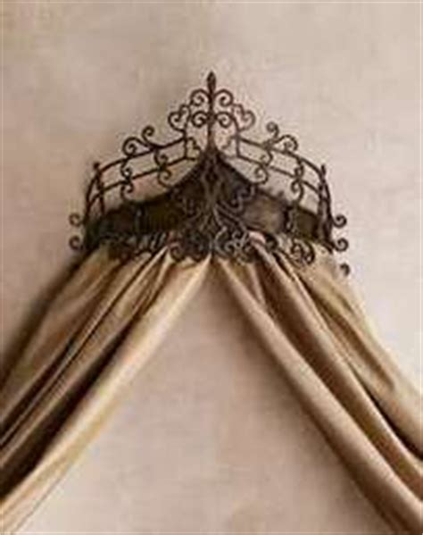 drapery crowns 1000 images about curtain crown canopy on pinterest bed