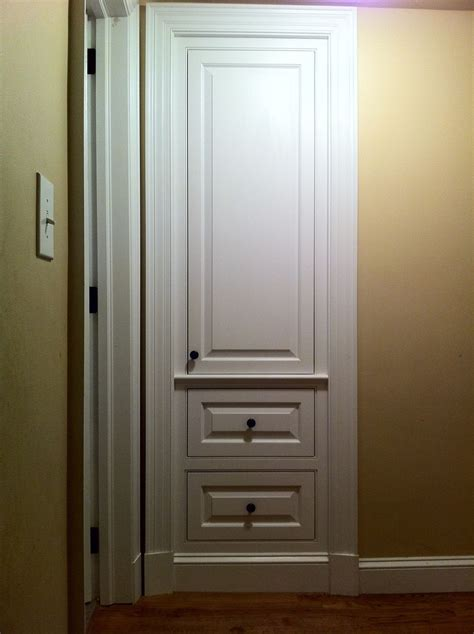 Custom Built Closets Handmade Built In Coat Closet By J S Woodworking