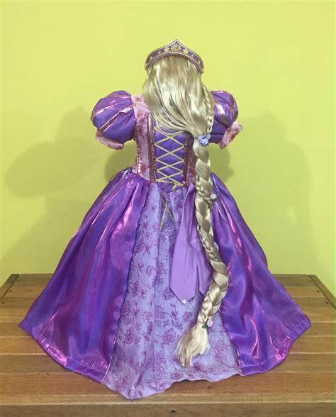 la peluca de rapunzel 842417075x preciosa peluca de princesa rapunzel 230 00 en mercado libre
