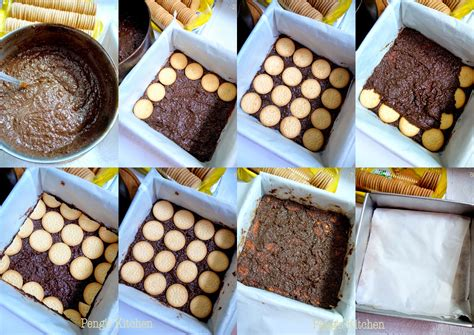Soes Mini Coklat Tabung peng s kitchen kek batik hedgehog slice