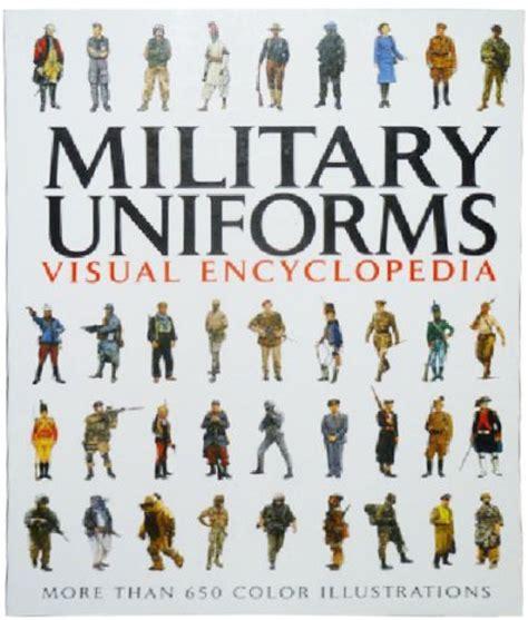 military uniforms visual encyclopedia paperback