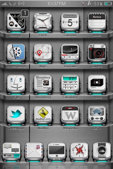 hd themes winterboard 27 best winterboard theme for ios devices 2013