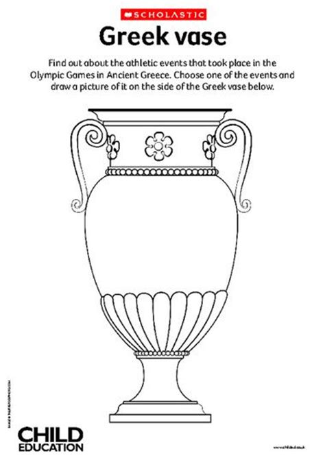 Ancient Vases Ks2 by Decorate A Vase Primary Ks2 Teaching Resource