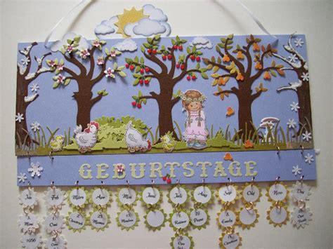 Geburtstagskalender Im Kindergarten Basteln by Geburtstagskalender Basteln Jahreszeiten Bouwunique
