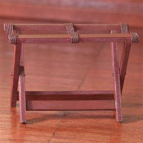 dolls house stand the dolls house emporium collapsible luggage stand
