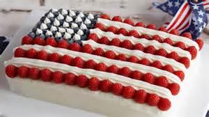 amerikanischer kuchen 4th of july american flag cake