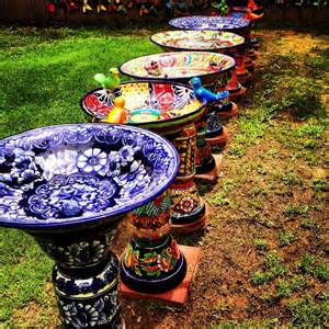 colorful bird baths colorful painted bird baths bird bath