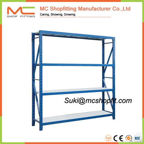 cheap metal shelving racks for storage medium duty rack