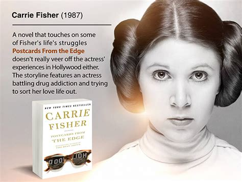 Book Review Postcards From The Edge By Carrie Fisher by 10 You Probably Didn T Published Books