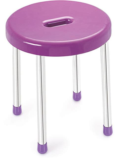 Plastic Stool Price by Buy Cello Plastic Stool Purple Best Prices