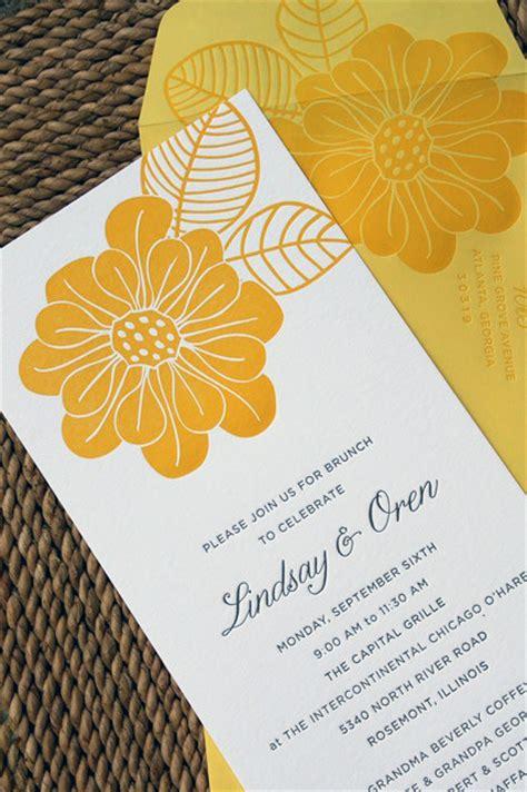 after wedding brunch invitations wedding day after brunch invitations