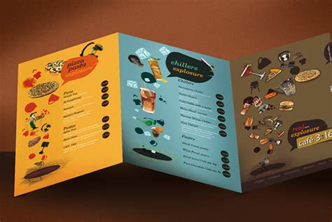 menu design project cafe menu design on behance