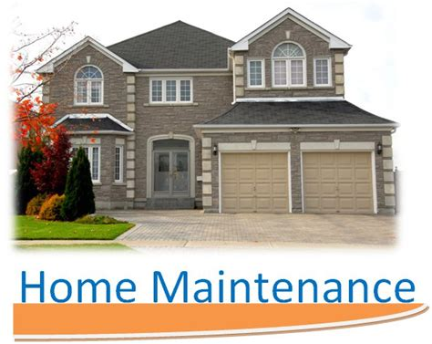 home maintenance tips suggestions