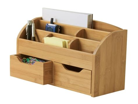 Best home office desk, wooden desk caddy organizer wooden
