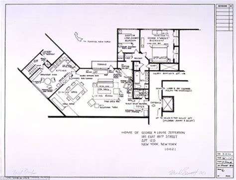 tv show floor plans artists sketch floorplan of friends apartments and other