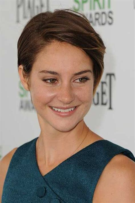 short hair 2014 gallery shailene woodley short hair pics short hairstyles 2017