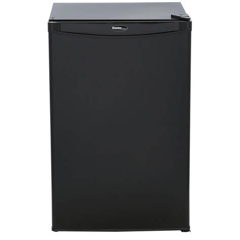 danby 4 4 cu ft mini refrigerator in black dcr044a2bdd