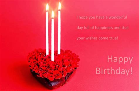 Happy Birthday Wishes In For Lover Romantic Birthday Wishes Pictures For Lover Birthday
