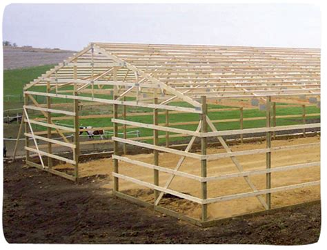 Building An A Frame House by Post Frame Advantages Cleary Building Corp