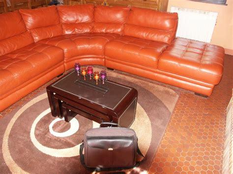 changer couleur canapé cuir troc echange canape panoramique 7 places de couleurs