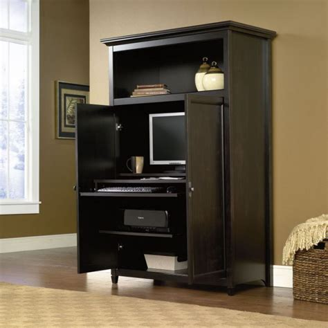sauder desk armoire excellent computer armoire plans for home office